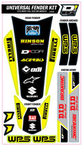 TRIM KIT YELLOW WPS UNIVERSAL FOR FULL SIZE MOTORCYCLES D'cor Visuals - $54.95