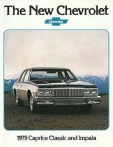 1979 Chevrolet Caprice Classic Impala Brochure Catalog Chevy 79 - $8.00