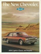 1978 Chevrolet CAPRICE CLASSIC IMPALA brochure catalog Chevy 78 - $8.00