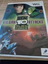 Nintendo Wii Ben 10 Alien Force: Vilgax Attacks image 1