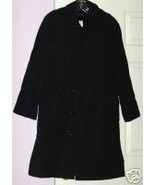 NWT MILITARY TRENCH COAT-NAVY BLUE, ZIP OUT LIN... - $38.10