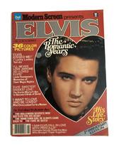 Modern Screen presents Elvis the Romantic Years-Vintage Magazine color 1979 - $15.17