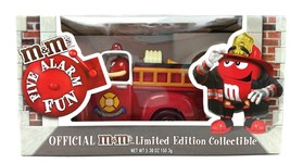 M&M's Red's Firehouse Fire Truck Candy Dispenser Limited Edition Collect... - $15.83