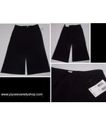 Harold's Alex Fashion Fit Black Flair Capris NWT SZ 2 MADE USA - $14.99