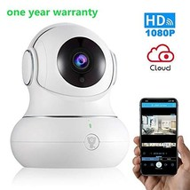 Wireless Baby Monitor WiFi IP Camera Security1080P with Night Vision for... - $73.50