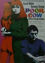 Poor Cow (2) - Carlo White / Terence Stamp (German) - Movie Poster Picture - 11  - $32.50