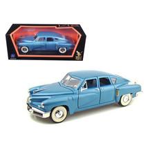 1948 Tucker Torpedo Blue 1/18 Diecast Model Car by Road Signature 92268bl - $50.99