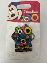 2020 Mickey And Minnie Mouse Cinderella Castle WDW Magic Kingdom Disney ... - $11.87
