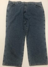 Red Head Relaxed Men's Blue Jeans Sz 48/30 Medium Stone Wash image 4