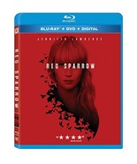 Red Sparrow [Blu-ray+DVD+Digital, 2018] - $9.95
