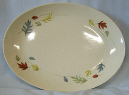 "Franciscan Autumn Leaves Large 16 1/2"" Oval Platter - $55.33"