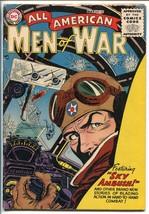 All American Men Of War #33-1956-WWII-DC-SILVER AGE-KUBERT-GRANDENETTI-vg+ - $74.50