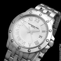 Raymond Weil Tango Mens Ref. 5599 Stainless Steel Watch - Mint With Warranty - $612.26