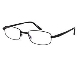EBE Reading Glasses Mens Womens Rectangular Folding Full Rim Stainless Steel - $33.29+