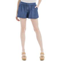 Max Studio London Denim Shorts Indigo Size 8 - $21.11