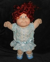 VINTAGE 1987 CABBAGE PATCH KIDS BABY DOLL LONG RED CORNSILK GROWING HAIR... - $34.65