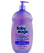 Baby Magic 30 Oz Calming Made With Real Lavender & Chamomile Baby Bath - $13.62
