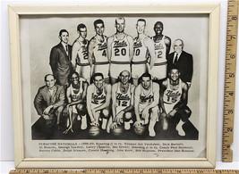 Vintage 1959 Syracuse Nationals Photograph NBA Basketball New York 12 X ... - $16.82