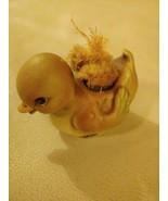Josef Originals Duck Figurine Porcelain Animal Vase Japan RARE Vintage - $29.65