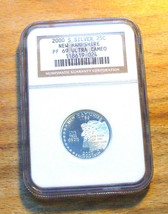 2000-S  NGC - Proof 69 State Quarter ULTRA CAMEO - SILVER - NEW Hampshire - $19.95