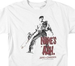 Army of Darkness Name's Ash T-shirt Evil Dead Retro Horror Movie Tee MGM104 image 2