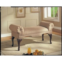 Upholstered Bench Seat Bed Room Living Foyer Hall Way Entry Backless Sof... - £106.87 GBP