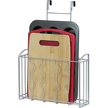 Portable Cabinet Door Basket,Over the Cabinet Door Organizer Holder,Stor... - $26.09
