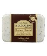 A La Maison - Bar Soap - Coconut Charcoal - 8.8 Oz - $6.39