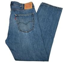 Levis 505 38x32 Mens Jeans Regular Fit Straight Leg Slim Leg  - $26.99