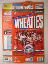 MT WHEATIES Cereal Box 1997 18oz TEAM USA WINTER OLYMPIC LEGENDS Hockey ... - $7.17
