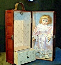 12 inch Porcelain Doll with her Own Closet AA-191991  Collectible