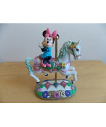Disney Mickey's Carousel Collection Minnie Mouse Figurine  - $40.00