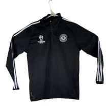 Chelsea FC UEFA Champions League Formotion Men's Size M Black Zip Up Jacket - $34.61