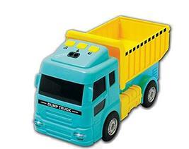 Zeus Toys Motion Sensor Melody Light Dump Truck Car Vehicle Toy