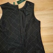 new RALPH LAUREN women sweater vest black 16W - MSRP $185 image 9