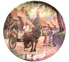 The Milkman Country Deliveries Stephen Cummins Collector Plate Horse Plate - $38.24