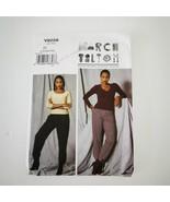 Vogue V9228 March Tilton Designer Pants Size L XL XXL Uncut Pattern - $19.75
