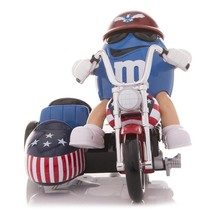 M&M's World Blue Character Motorbike Candy Dispenser new with Tags - $31.31