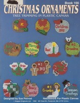 "Kappie Originals ""Christmas Ornaments"" Easy Plastic Canvas - Gently Used - $4.00"