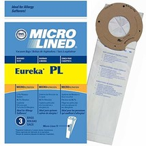 DVC Eureka Style PL 62389A Micro Allergen Vacuum Cleaner Bags Made in US... - $14.51