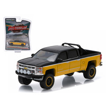 2015 Chevrolet Silverado 1500 Black and Yellow Pickup Truck All Terrain ... - $14.51
