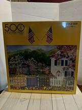 """F.X. Schmid Diane Phalen, Artist Spring Garden 500 PC. Puzzle 18X24"""" - $24.97"""