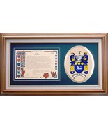 Family Coat of Arms & Family History Prints - $41.99