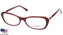 0119f96ebc NEW Vogue VO2960-B 2323 BORDEAUX On OPAL POWDER EYEGLASSES FRAME 52-16-