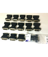 Lot of 14  DVI Male To VGA Female Adapters  - $11.83