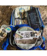 Disney Star Wars Mandalorian Backpack Baby Yoda The Child 5 Piece Set w/... - $29.69