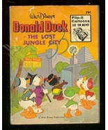 DONALD DUCK-LOST JUNGLE CITY-BIG LITTLE BOOK-FLIP PAGES G - $25.22