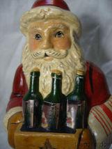 Vaillancourt Folk Art Wine Santa Signed by Judi Vaillancourt image 5
