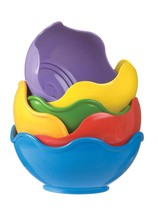 Playgro Babushka Stacking 6 brightly colored Cups for Baby Toddler Toys ... - $10.77