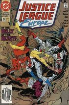 DC JUSTICE LEAGUE EUROPE #25 VF - $0.89
